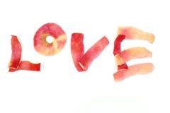 tła grunge letterpress miłości przypadkowy typ słowo zdjęcie stock