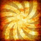 tła grunge promieni słońca rocznika kolor żółty ilustracja wektor