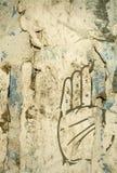 tła grunge ręka Zdjęcia Stock