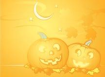 tła Halloween bania Zdjęcia Royalty Free