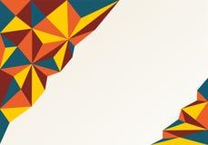 tła ilustracyjny trójboków wektor abstrakcja jasny kolor ilustracja wektor