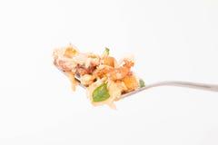 tła jajek omletu rozdrapany biel zdjęcia royalty free
