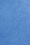 tła kąpielowy błękitny sukienny makro- pluszowy Terry ręcznik Fotografia Stock
