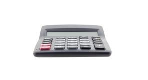tła kalkulatora odosobniony biel Obrazy Royalty Free