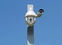 tła kamery cctv wysoka ilustracja odizolowywał ilość biel Fotografia Stock