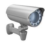 tła kamery ochrony biel Zdjęcia Royalty Free
