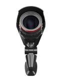 tła kamery ochrony biel Obraz Stock