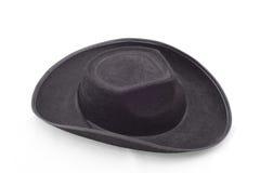 tła kapeluszu odosobniony biel Zdjęcia Stock