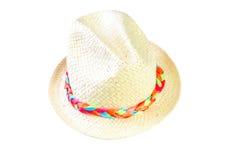 tła kapeluszu odosobniony biel zdjęcia royalty free