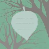 tła karciana powitania strony szablonu cechy ogólnej sieć projekta grunge liść stary pocztówkowy retro wiosna styl Fotografia Royalty Free