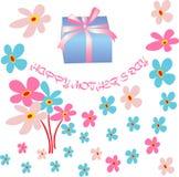 tła karcianego dzień kwiecista matka s Zdjęcie Royalty Free