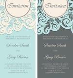 tła karciany rysunków zaproszenia wektoru ślubu biel Zdjęcie Royalty Free