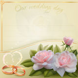 tła karciany rysunków zaproszenia wektoru ślubu biel Royalty Ilustracja