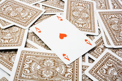 tła kart bawić się Obraz Royalty Free