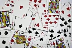 tła kart bawić się Zdjęcia Stock