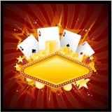 tła kasyno Obrazy Royalty Free