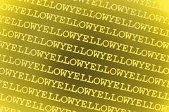 tła kolor żółty Zdjęcie Stock