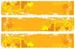 tła kolor żółty Obrazy Royalty Free