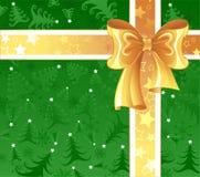tła kolor żółty zielony tasiemkowy Obrazy Stock