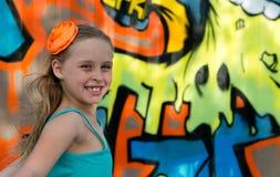 tła kolorowy dziewczyny bieg obrazy royalty free