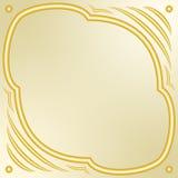 tła koloru ciemna dekoracyjna ramowa złocista czerwień Zdjęcie Royalty Free