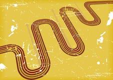 tła koloru grunge wektoru kolor żółty ilustracja wektor