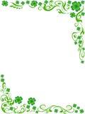 tła koniczyny cztery ramowy liściasty ilustracji