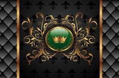 tła korony rocznik Zdjęcia Royalty Free