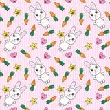tła królików śliczny kawaii Obrazy Royalty Free