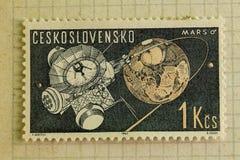 tła krajów różni znaczek pocztowy czas Tło obraz stock