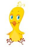 tła kreskówki kurczaka ilustracyjny biel Zdjęcia Stock