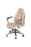 tła krzesła meble odizolowywający biura tematu biel Obrazy Royalty Free