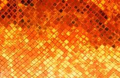 tła krzyw ramowa złocista makro- stara tekstura Fotografia Royalty Free