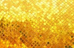 tła krzyw ramowa złocista makro- stara tekstura Fotografia Stock