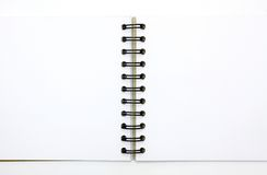 tła książka odizolowywający nutowy biel obrazy stock