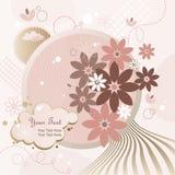 tła kwiatów księżyc Zdjęcia Royalty Free