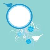 tła kwiecisty błękitny Zdjęcia Stock