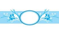 tła kwiecisty błękitny Zdjęcie Royalty Free