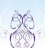 tła kwiecisty błękitny Fotografia Royalty Free