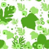 tła liść wielostrzałowa bezszwowa tekstura Fotografia Stock