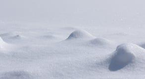 Tła - Mały Śnieżny krajobraz Zdjęcia Royalty Free
