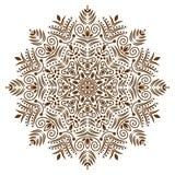 Tła mandala wektor Obraz Royalty Free