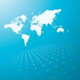 tła mapy świat Zdjęcie Stock
