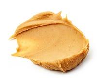 tła masła kropli oleju arachidu stylizowany biel Obrazy Stock