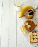 tła masła kropli oleju arachidu stylizowany biel Zdjęcia Stock