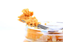 tła masła kropli oleju arachidu stylizowany biel Zdjęcie Stock