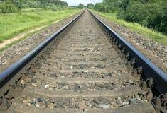 tła metalu natury poręcza pociąg Zdjęcie Stock
