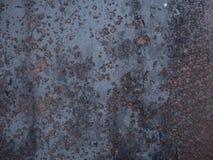 tła metalu ośniedziała tekstura Obraz Royalty Free