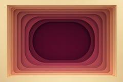 Tła mieszkanie konstruuje prostokątnej dziury Obrazy Royalty Free