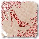 tła mody buty Zdjęcia Stock